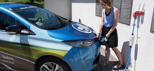 Elektroauto laden mit einer Wallbox von Elektro Göttinger in Klosterneuburg